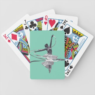 Dancer Bicycle Playing Cards