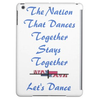 Dances Dancing Patriotism USA CricketDiane Case For iPad Air
