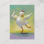 Cute & Fun Dancing Chicken Postcard