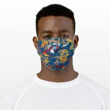 Dark Blue Pattern Cloth Face Mask