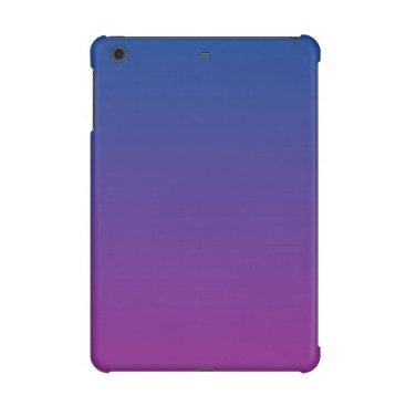 Dark Blue & Purple Ombre iPad Mini Retina Case