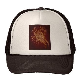 Dark Circuit Board Mesh Hat