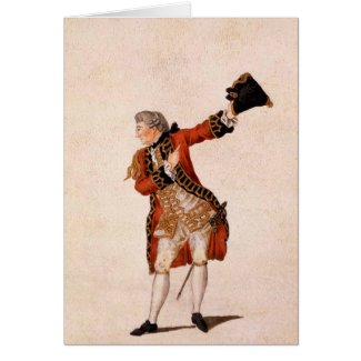 David Garrick as Benedict - Much Ado About Nothing