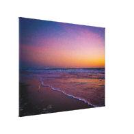 Dawn on Daytona Beach Atlantic Coast Modern Art Stretched Canvas Prints