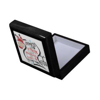 Dear Santa Vegan Wish jewelry box