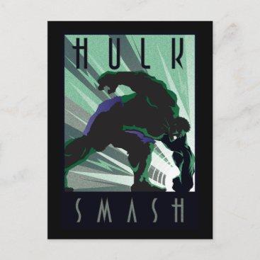 Decodant Hulk Smash Postcard