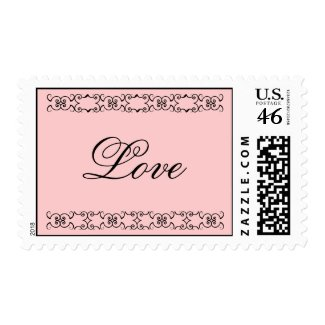 Decorative Love stamp stamp