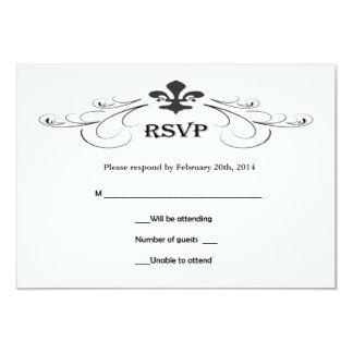Wedding Plaque Horizontal Fleur De Lis