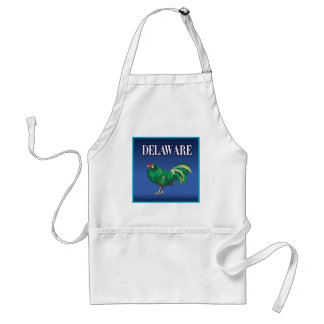 Delaware Green Chicken Aprons