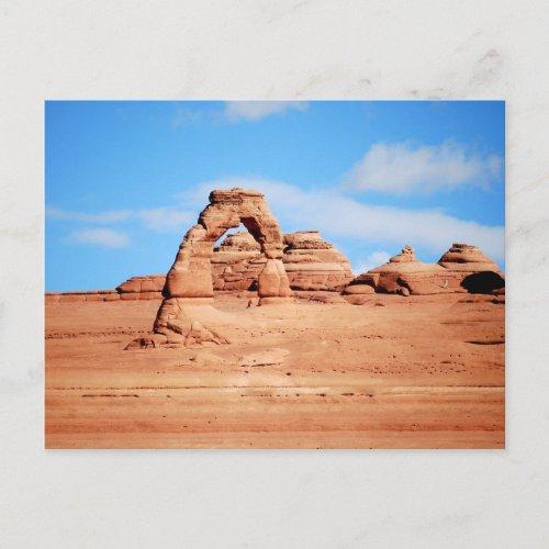 Delicate Arch, Arches, Utah, Postcard postcard
