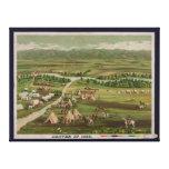 Denver, Colorado in 1859 Canvas Print