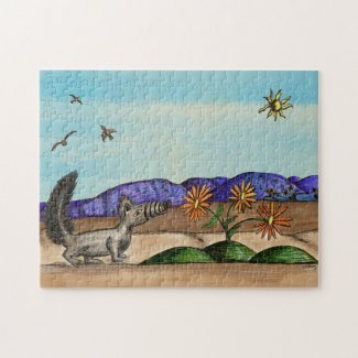"""Desert Flowers"" Jigsaw Puzzle for Kids"