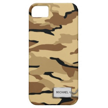 Desert Sand Military Camouflage iPhone SE/5/5s Case