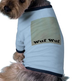 Design 6 - The World With Only Words zazzle_petshirt