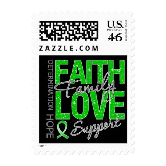 Determination Faith Family Traumatic Brain Injury stamp
