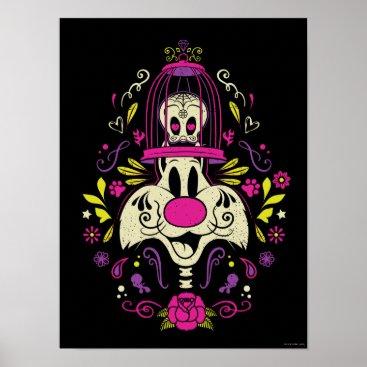 Día De Los Muertos TWEETY™ & SYLVESTER™ Poster