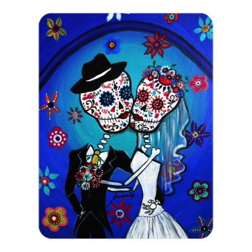 DIA DE LOS MUERTOS WEDDING INVITATION