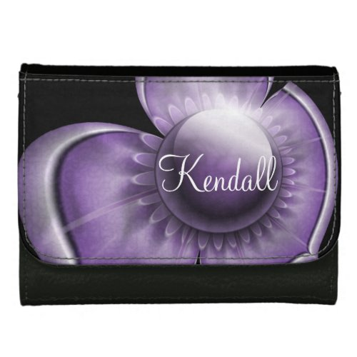 Dimensions of Purple Women's Wallets