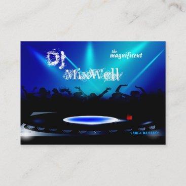 Disc Jockey DJ Party Clubbing Business Card