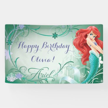 Disney Frozen Ariel Birthday Banner