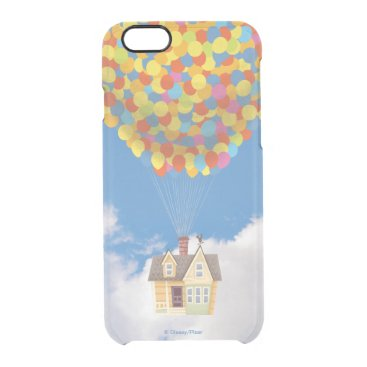 Disney Pixar UP | Balloon House Pastel Clear iPhone 6/6S Case