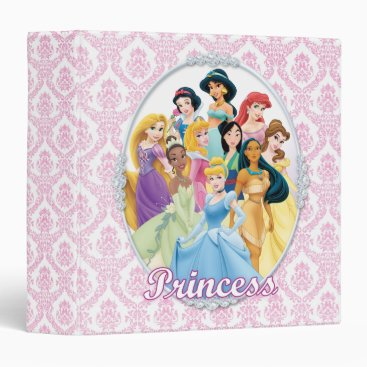 Disney Princess | Cinderella Featured Center 3 Ring Binder
