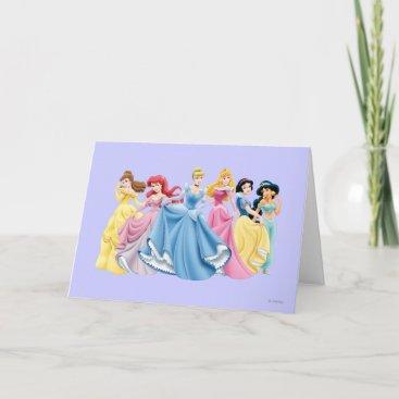 Disney Princess | Holding Dresses Out Card