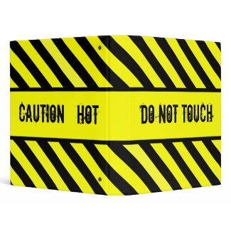do not touch - hot binder