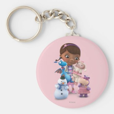Doc McStuffins and Her Animal Friends Keychain