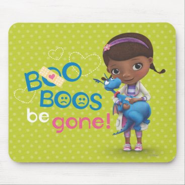 Doc McStuffins and Stuffy - Boo Boos Be Gone Mouse Pad