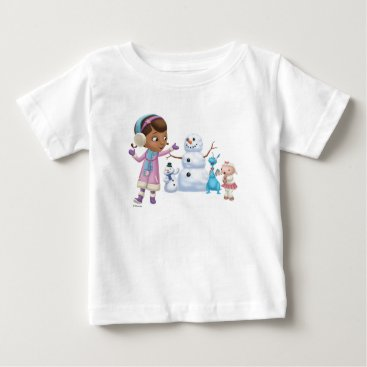 Doc McStuffins | Doc McStuffins Playing In Snow Baby T-Shirt