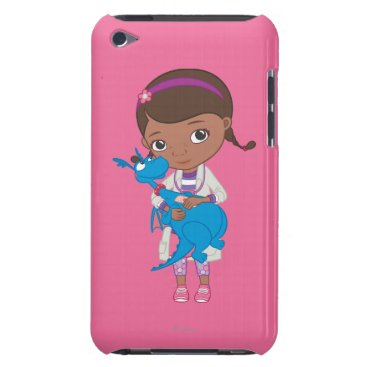 Doc McStuffins Holding  Stuffy Barely There iPod Case