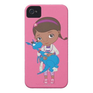Doc McStuffins Holding  Stuffy Case-Mate iPhone 4 Case