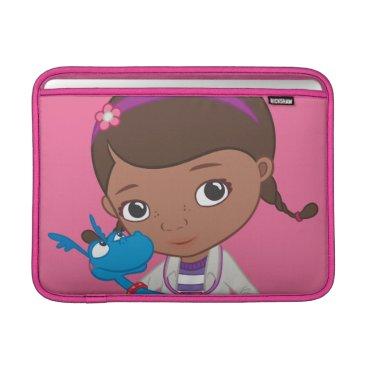 Doc McStuffins Holding  Stuffy MacBook Sleeve