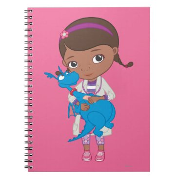 Doc McStuffins Holding  Stuffy Notebook