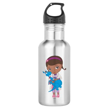 Doc McStuffins Holding  Stuffy Stainless Steel Water Bottle
