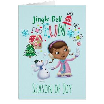 Doc McStuffins | Jingle Bell Fun Card