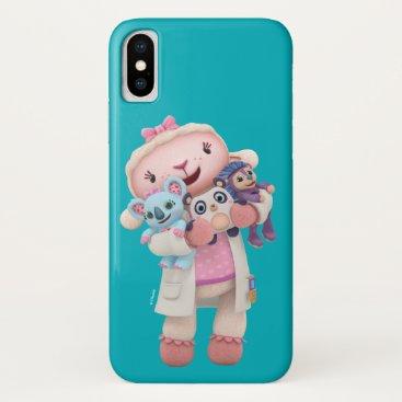 Doc McStuffins | Lambie - Hugs Given Here iPhone X Case