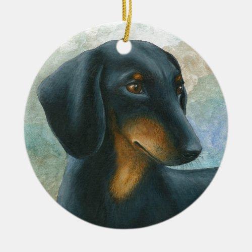 Dachshund Dachshund Christmas Ornament