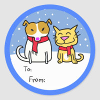 Dog & Cat Gift Tags