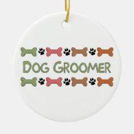 Dog Groomer Gifts Christmas Ornament