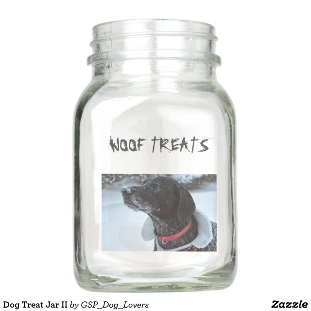 Dog Treat Jar II