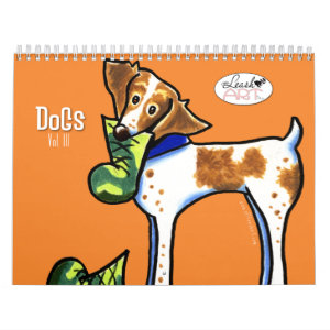 Dogs by Off-Leash Art Vol 3 Calendar