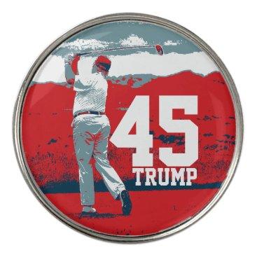 Donald Trump 45th President Golf Ball Marker