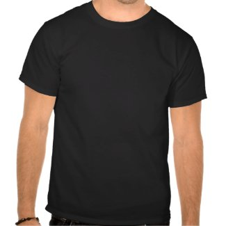Don't be an a hole wht on blk mns tee CUSTMIZE IT! shirt