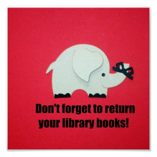 Image result for return your books library