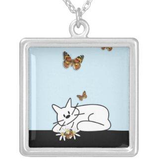 Doodle Cat necklace