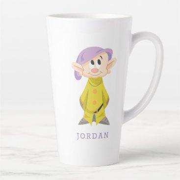 Dopey 5 latte mug