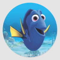 Dory | Finding Dory Classic Round Sticker