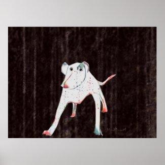Dotty Dog Print